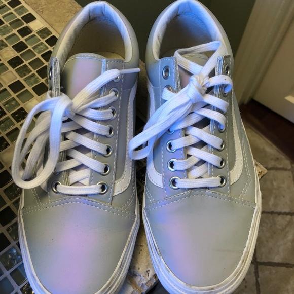 d9f40fef0e Vans old skool muted metallic skate shoes. M 5b0cb0949a9455d484d4a684